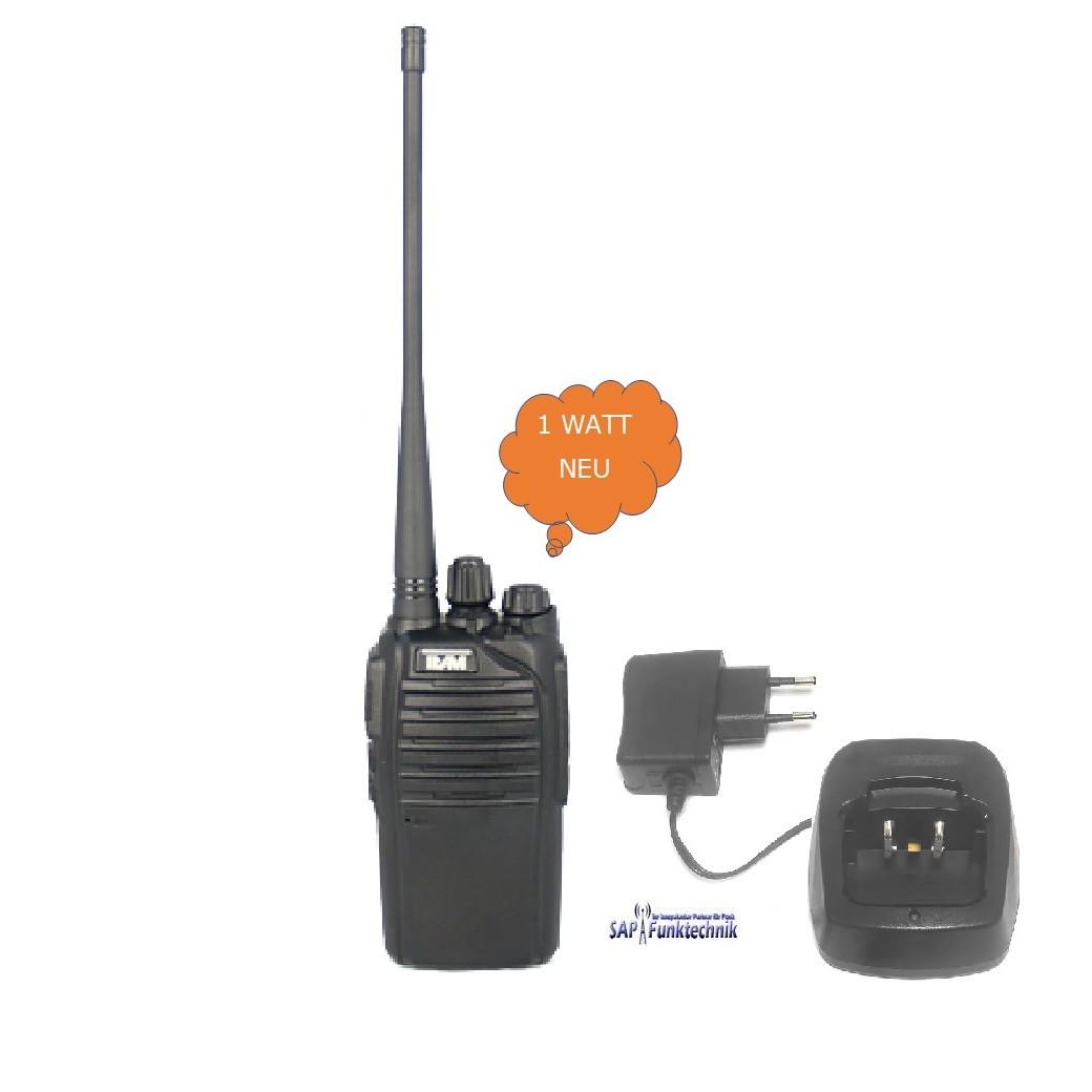 TEAM TeCom-LC, NEU 1 Watt FreeNet Handfunkgerät inkl  Tischlader und  Akkupack